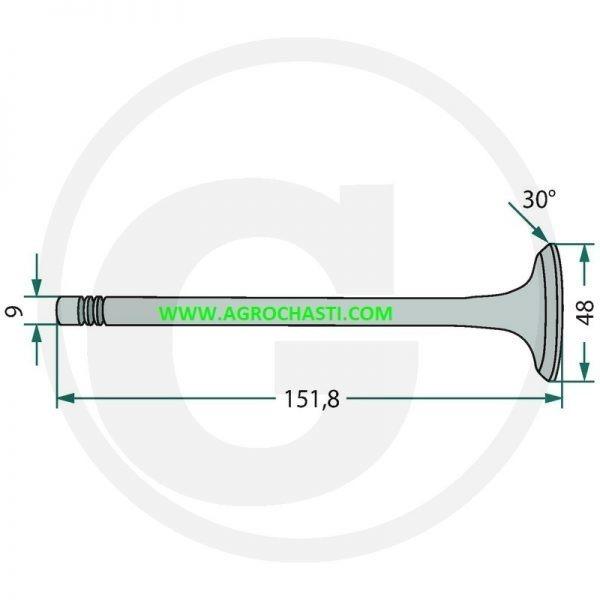 КЛАПАН MF V836646356-V836646356